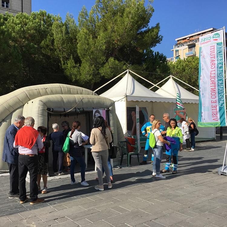 Carovana della salute Pescara FNP CISL