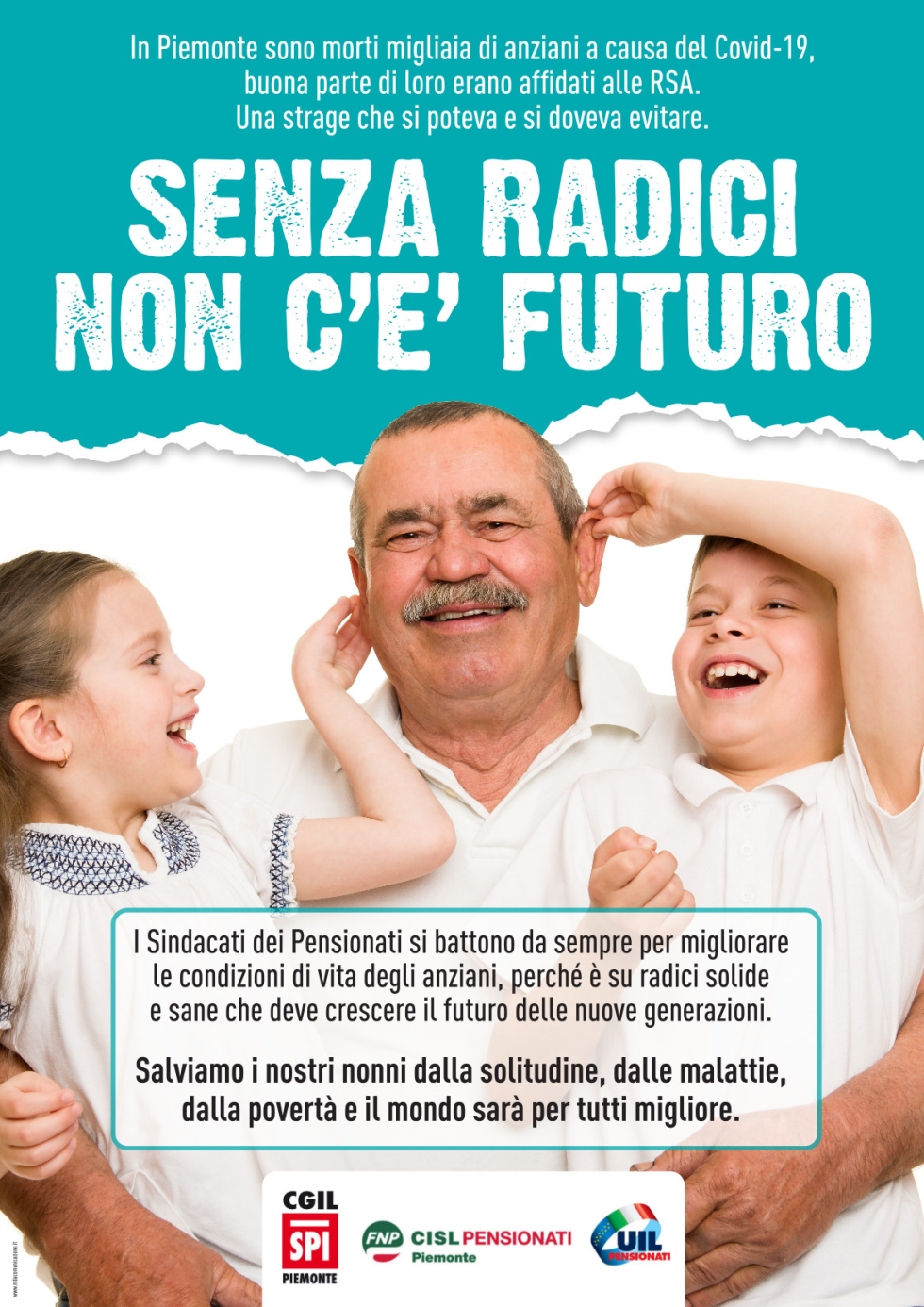"Fnp-Spi-Uilp Piemonte: ""Senza radici non c'è futuro"""