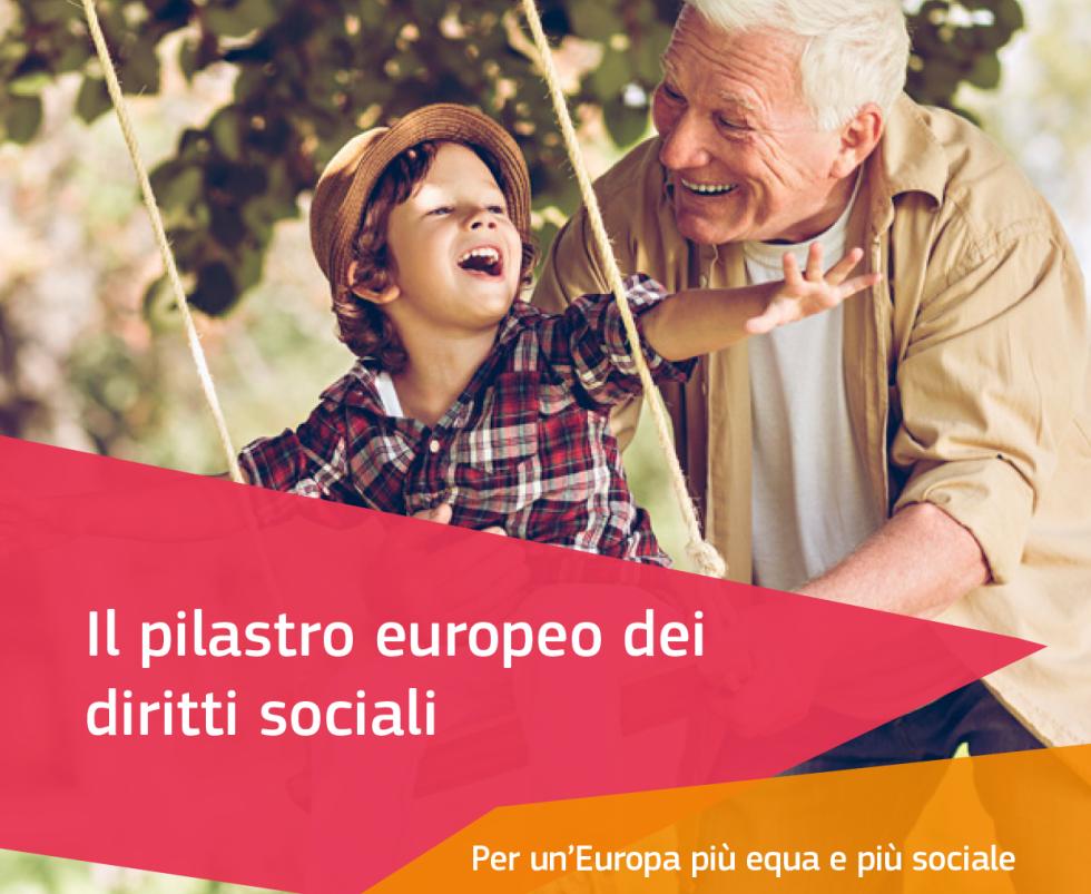 Il pilastro europeo dei diritti sociali. Per un'Europa più equa e più sociale