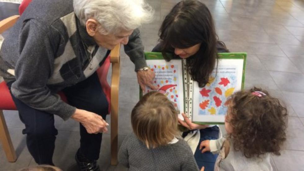 A Piacenza il primo spazio dove anziani e bambini crescono insieme