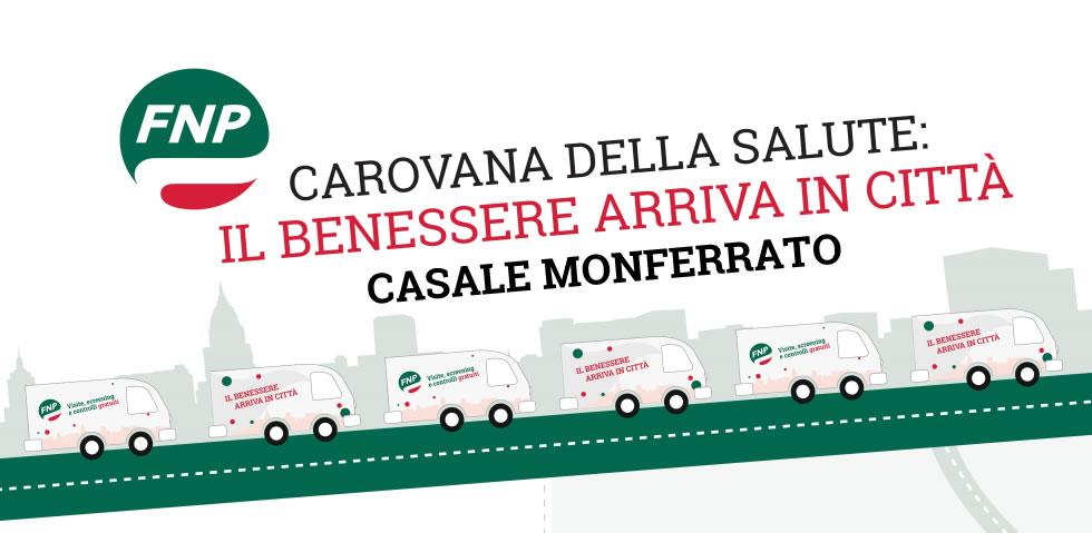 La Carovana della Salute arriva l'8 giugno a Casale Monferrato