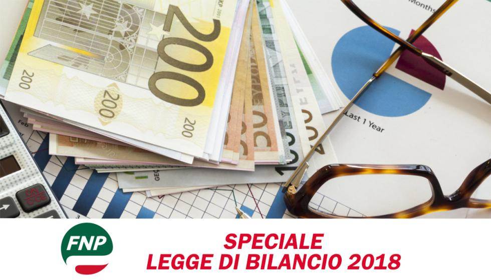 Speciale Legge di Bilancio 2018: le novità per i pensionati