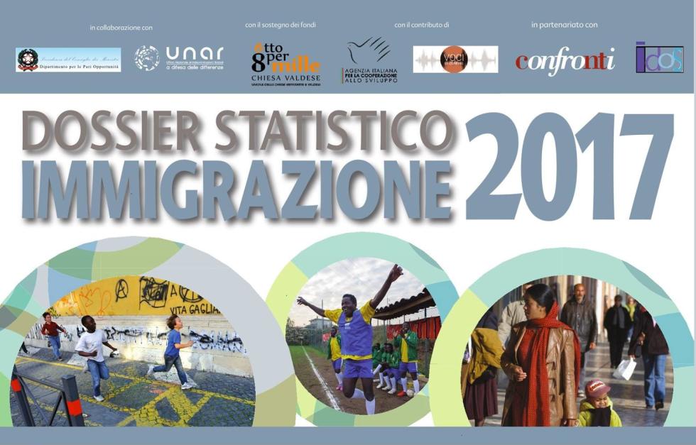 Immigrazione, presentato il Dossier Statistico 2017