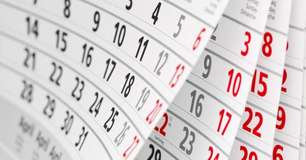 Il calendario del pagamento pensioni per il 2018
