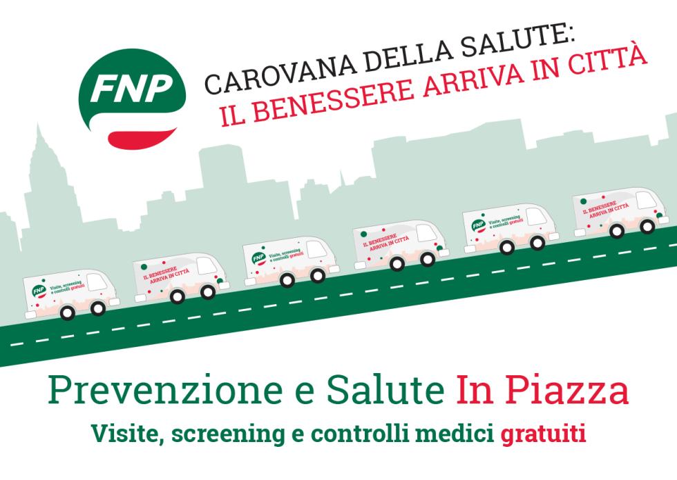 Carovana della Salute, il 10 novembre a Roma la prevenzione in piazza