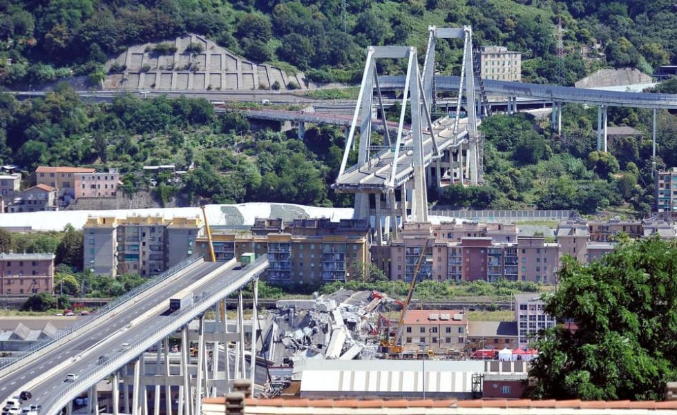 Visita solidale a Genova da parte delle segreterie regionali e territoriali dell'Emilia Romagna