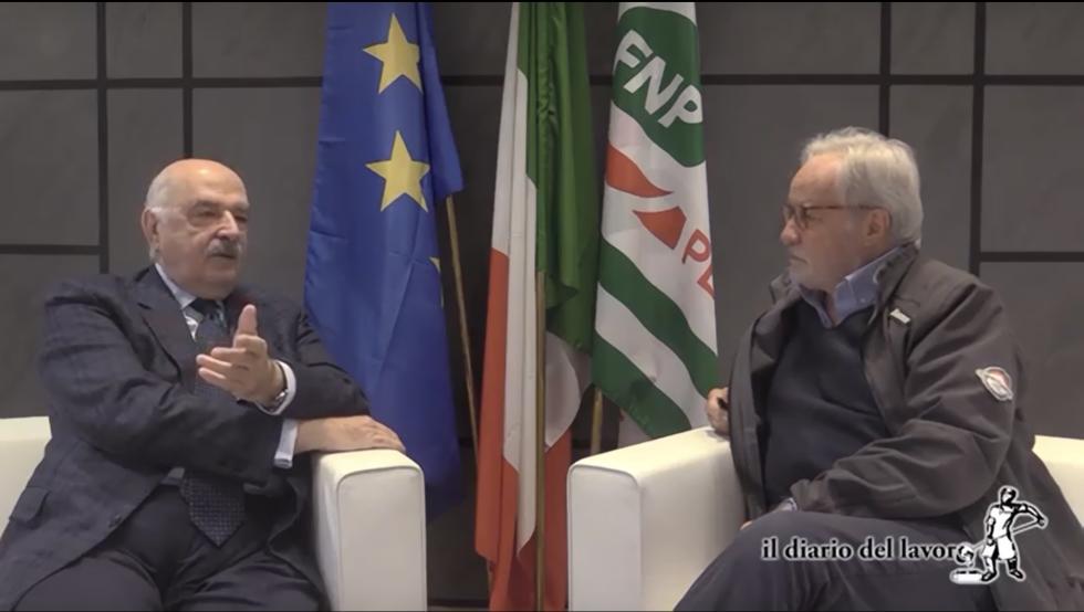 Intervista del direttore del Diario del Lavoro, Massimo Mascini, al segretario generale Gigi Bonfanti