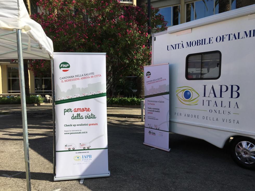Carovana della Salute, oltre 600 controlli gratuiti a San Benedetto del Tronto e San Severino Marche