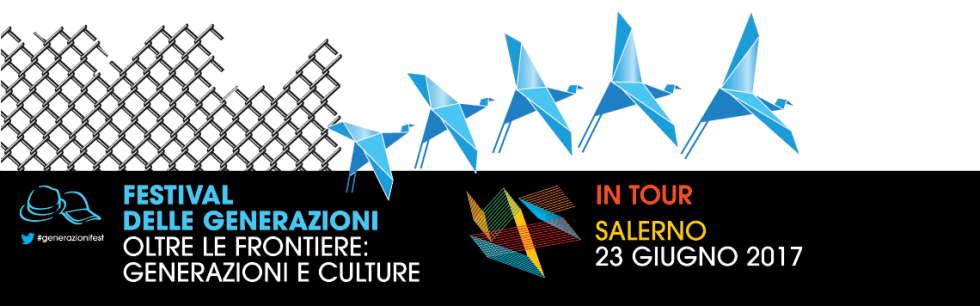 Festival delle Generazioni in Tour, seconda tappa il 23 giugno a Salerno