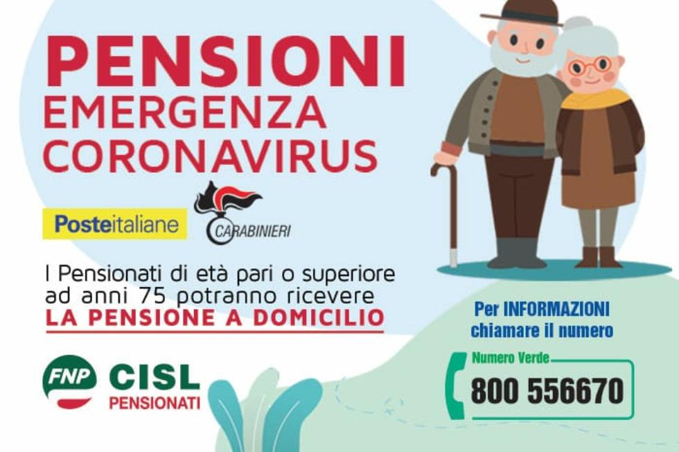 Poste Italiane e Carabinieri, accordo per consegnare la pensione a casa agli over 75
