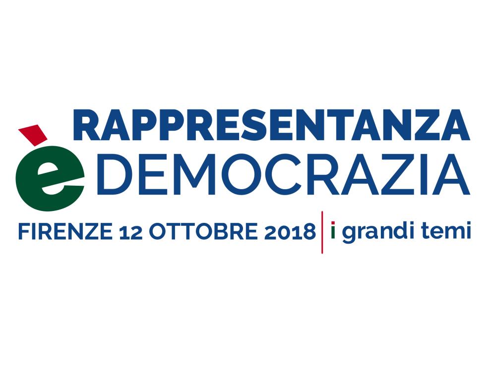 Rappresentanza è Democrazia, FNP CISL il 12 ottobre a Firenze con I Grandi Temi