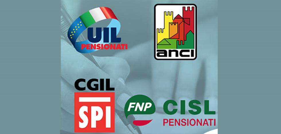 Welfare. Anci e sindacati pensionati sottoscrivono un Protocollo d'intesa