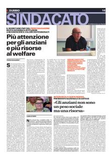 Piero Ragazzini su Il Dubbio: Più attenzione per gli anziani e più risorse al welfare