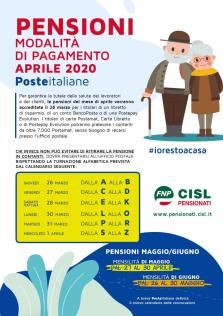 Pensioni: da Poste Italiane nuove modalità di pagamento